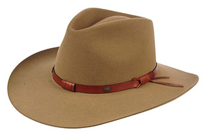Stetson Felt, Straw, and Leather Hats