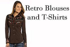 Panhandle Slim - Retro Blouses and T-Shirts